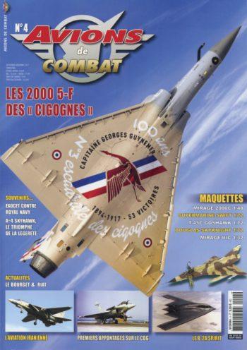 Avions de combat n°4 – Septembre à Novembre 2017
