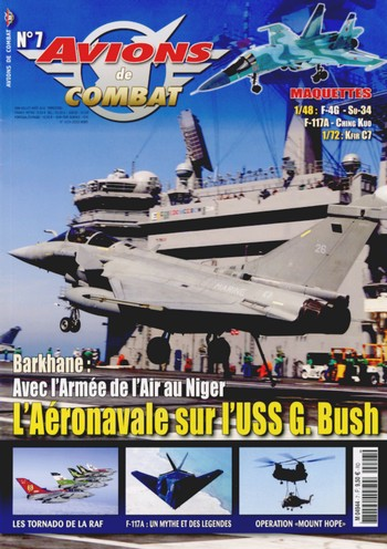 Avions de combat n°7 – juin à août 2108