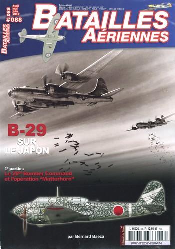 Batailles Aériennes 88 – B-29 sur le Japon
