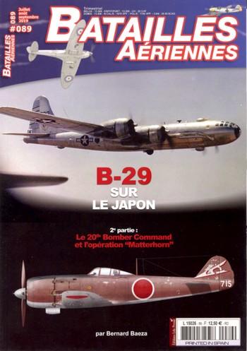 Batailles Aériennes 89 – B-29 sur le Japon (suite)