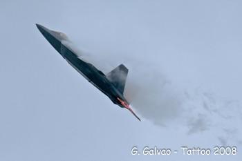 F-22 Raptor au Tattoo 2008
