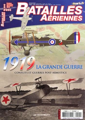Batailles Aériennes 90 – 1919, la grande guerre