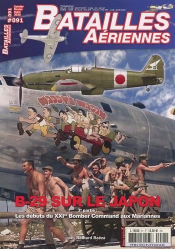 Bataills Aériennes 91 – B-29 sur le Japon
